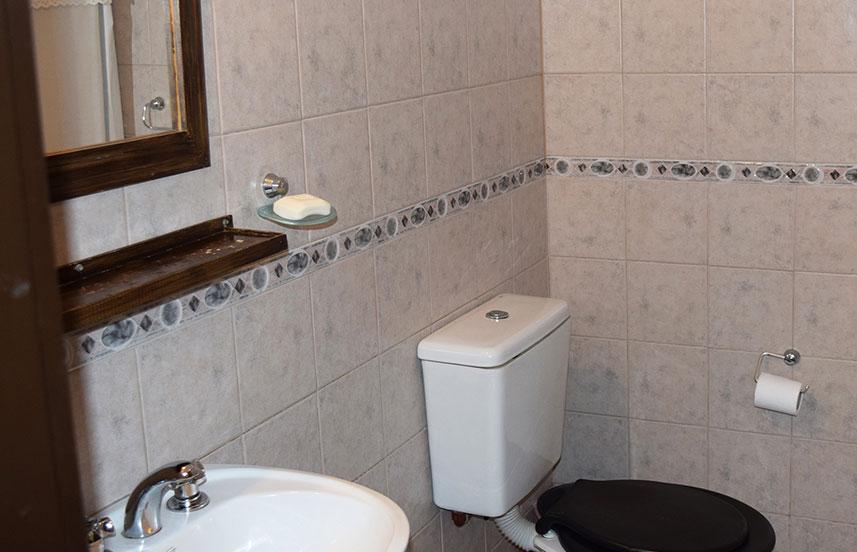 Baño habitación estándar